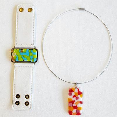 ilanit shalev art company fused glass jewelry making kit